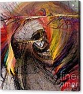 The Huntress-abstract Art Acrylic Print