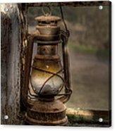 The Hurricane Lamp Acrylic Print