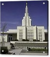 The Idaho Falls Mormon Temple Acrylic Print