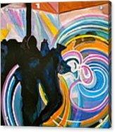 The Illuminated Dance Acrylic Print