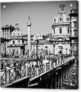 The Imperial Fora Acrylic Print