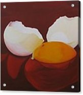 The Incredible Egg Acrylic Print by Roseann Gilmore