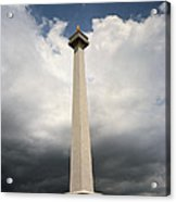 The Independence Monument Acrylic Print