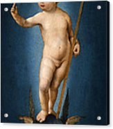 The Infant Christ On The Orb Of The World Acrylic Print