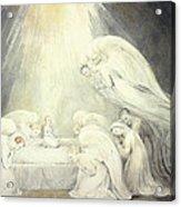 The Infant Jesus Saying His Prayers Acrylic Print