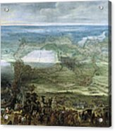The Infanta Isabella Clara Eugenia At The Siege Of Breda Of 1624 Acrylic Print