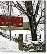 The Inn Acrylic Print