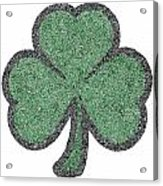 The Intricacies Of A Shamrock Acrylic Print