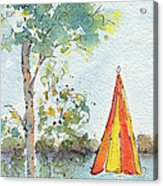 The Invitation Acrylic Print by Pat Katz