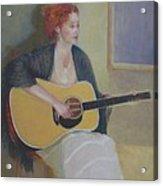 The Irish Singer    Copyrighted Acrylic Print