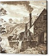 The Iron Forge Between Dolgelli Acrylic Print
