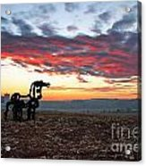 The Iron Horse Early Dawn The Iron Horse Collection Art Acrylic Print