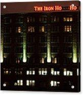 The Iron Horse Hotel Acrylic Print
