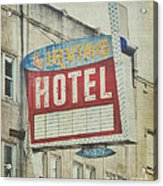 The Irving Hotel In Chicago Acrylic Print