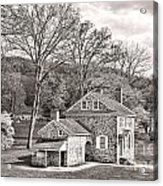 The Isaac Potts House Acrylic Print by Olivier Le Queinec