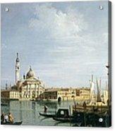 The Island Of San Giorgio Maggiore Acrylic Print
