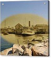 The Islander At Sakonnet Point In Little Compton Rhode Island Acrylic Print