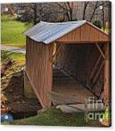 The Jacks Creek Covered Bridge Acrylic Print