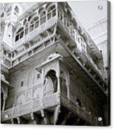 The Jaisalmer City Palace Acrylic Print