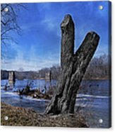 The James River One Acrylic Print