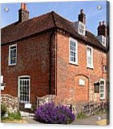 The Jane Austen Home Chawton England Acrylic Print