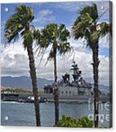 The Japanese Self Defense Force Ship Js Acrylic Print