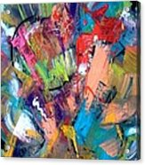 Jazz Abstract Painting Acrylic Print