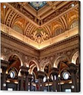 The Jefferson Building Library Of Congress Acrylic Print