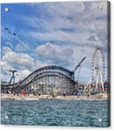 The Jersey Shore Acrylic Print by Lori Deiter