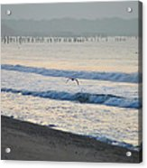 The Jersey Surf Acrylic Print