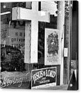 The Jesus Store Acrylic Print