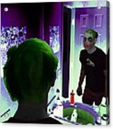 The Joker In Me Acrylic Print