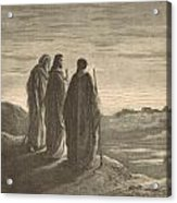 The Journey To Emmaus Acrylic Print