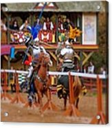 The Jousters 2 Acrylic Print