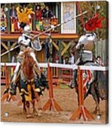 The Jousters 3 Acrylic Print