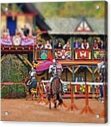 The Jousters Acrylic Print