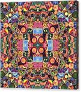 The Joy Of Design Mandala Series Puzzle 2 Arrangement 1 Acrylic Print