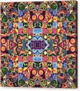 The Joy Of Design Mandala Series Puzzle 2 Arrangement 9 Acrylic Print