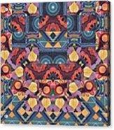 The Joy Of Design Mandala Series Puzzle 5 Arrangement 1 Acrylic Print