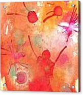 The Juggler Acrylic Print by Katie Spicuzza