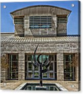 The Jule Collins Smith Museum Of Fine Art Acrylic Print