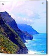 The Kalalau Trail Acrylic Print