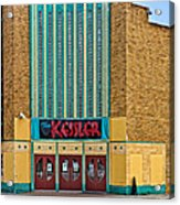 The Kessler Movie Theater Acrylic Print