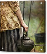 The Kettle Acrylic Print