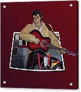 The King Elvis Acrylic Print