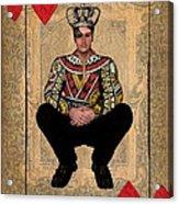 The King Of Hearts Acrylic Print