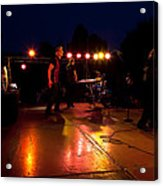 The Kingpins Rock The Night Away Acrylic Print