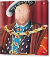 The Kings Head Acrylic Print