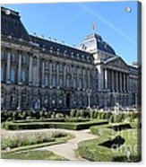 The King's Palace In Brussels Acrylic Print
