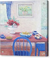 The Kitchen Table Laid For Lunch Acrylic Print
